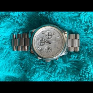 Stainless steel Michael Kors watch